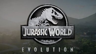 Logotipo de Jurassic World Evolution.