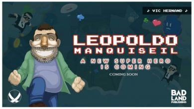 Banner y título del formato digital de Leopoldo Manquisiel: A new super hero is coming.