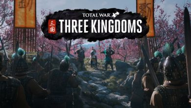 Título y carátula de Total War: Three Kingdoms