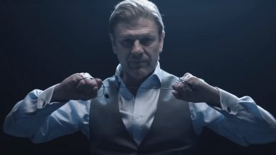 El actor Sean Bean interpretando a Mark Faba.