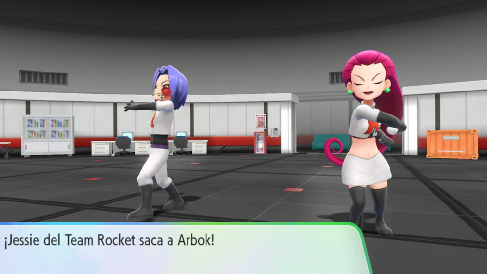 Jessie y James del Team Rocket