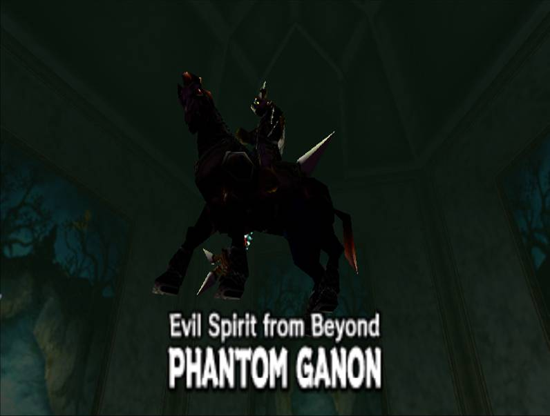 Ganon Fantasma de The Legend of Zelda: Ocarina of Time