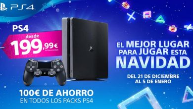 PlayStation 4 de 1tb por 199.99 euros
