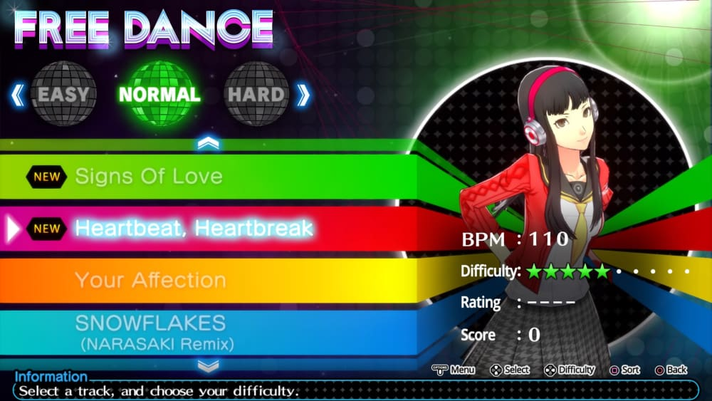 Temas musicales en Persona 4: Dancing All Night