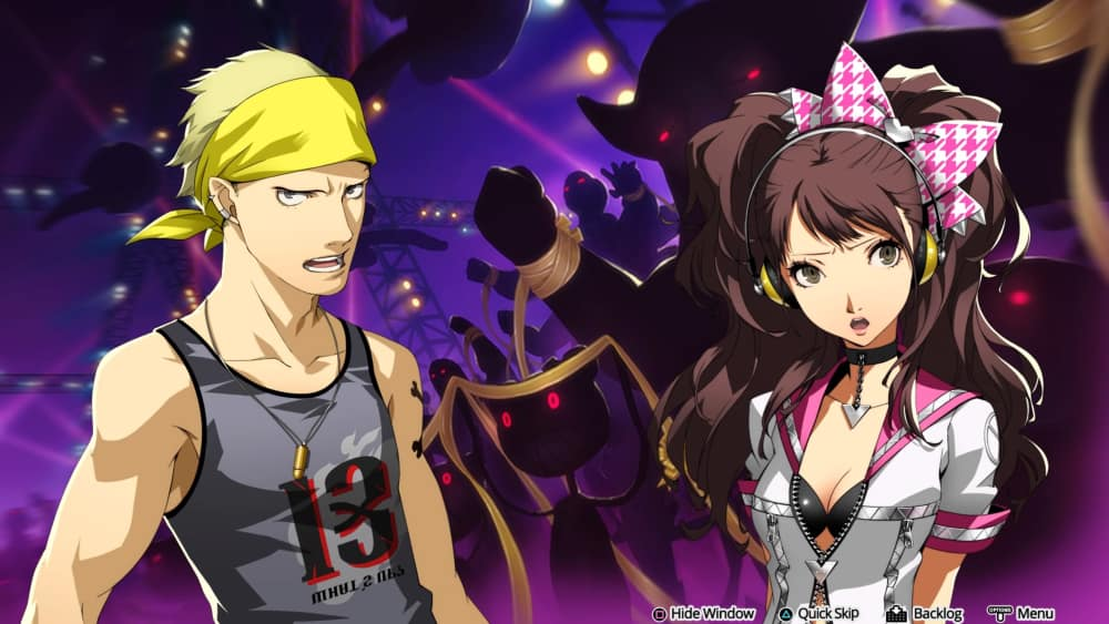 Narrativa en Persona 4: Dancing All Night