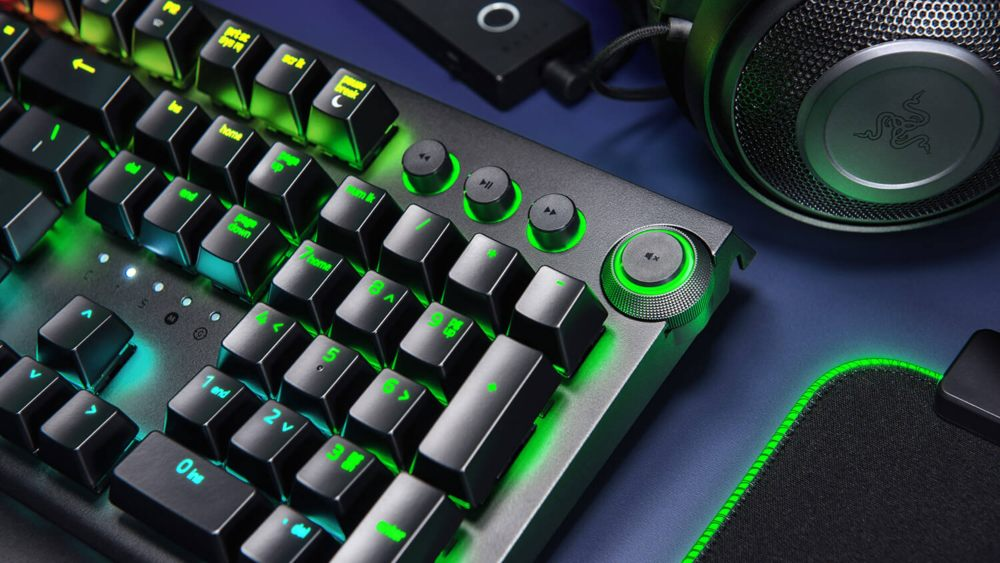 Diseño del Razer Blackwidow Elite