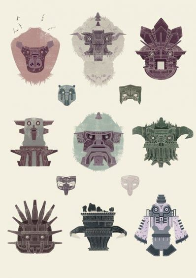 Lista de colosos de Shadow of the colossus