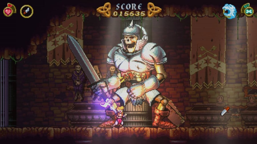 Combate contra jefe de Battle Princess Madelyn