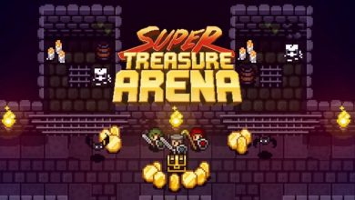 Cabecera de Super Treasure Arena