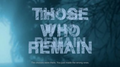 La imagen promocional de Those Who Remain
