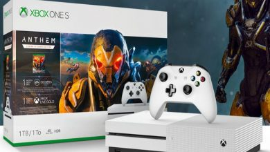 Versión del pack Anthem Xbox One S