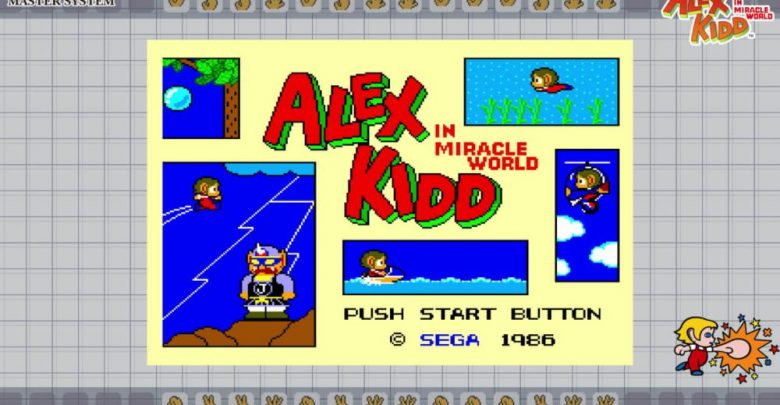 Portada de Alex Kidd in Miracle World