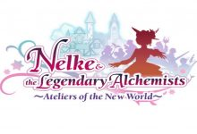 Logo oficial del juego Nelke & the Legendary Alchemists: Ateliers of the New World