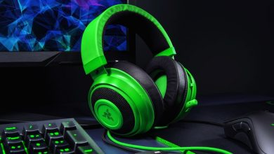 Setup de los cascos Razer Kraken Tournament Edition