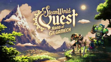 Logo de SteamWorld Quest.