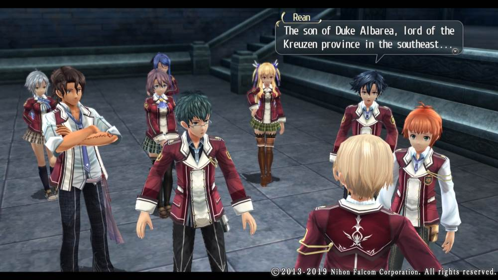 Los diálogos de The Legend of Heroes: Trails of Cold Steel