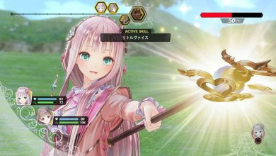 La protagonista de Atelier Lulua: The Scion of Arland