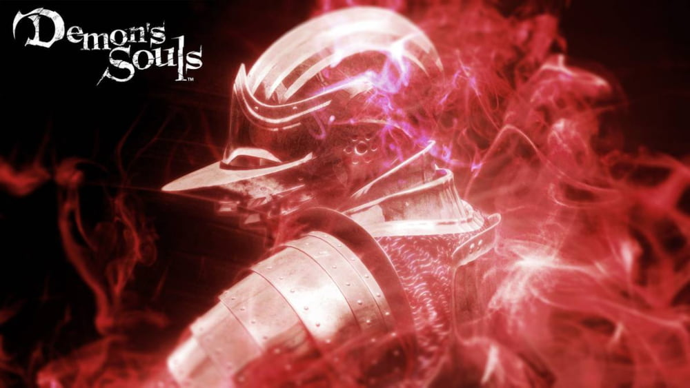 Portada de la edición europea Black Phantom de Demon's Souls.