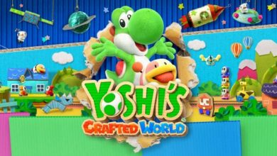 Portada del título Yoshi's Crafted World