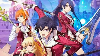 Los protagonistas de TLOH: Trails of Cold Steel