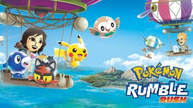 Título de Pokémon Rumble Rush
