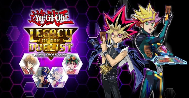 Personajes de Yu-Gi-Oh! Legacy of The Duelist: Link Evolution