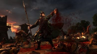 Decapitación de Total War Three Kingdom con Reign of Blood