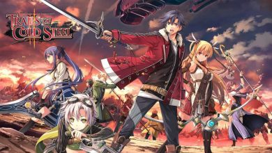 La Clase VII de nuevo reunida en la portada de The Legends of Heroes: Trails of Cold Steel II