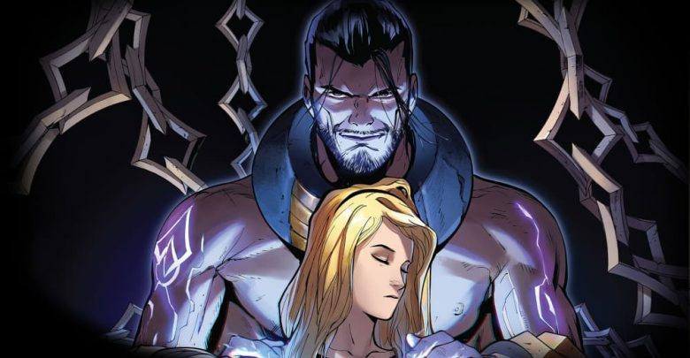 Lux y Sylas de League of Legends en la portada de la Dama Luminosa