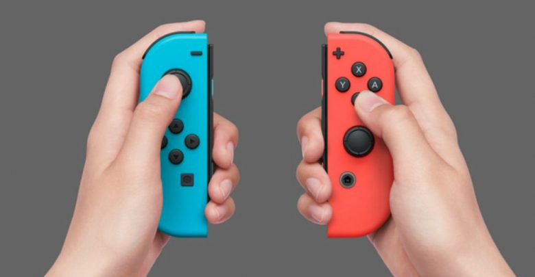 Joy Con de Nintendo Switch