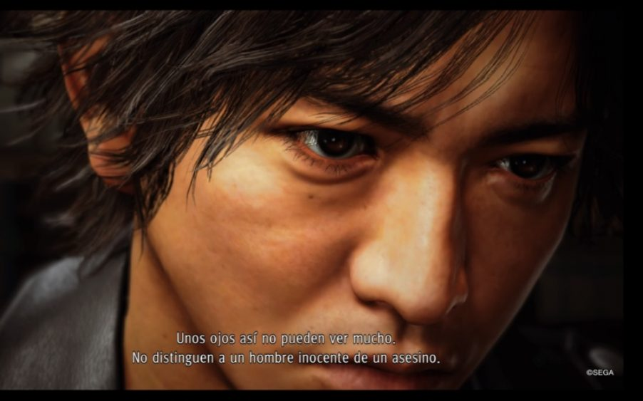 Yagami en Judgment
