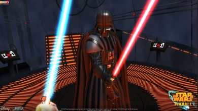 Captura del juego Star Wars Pinball