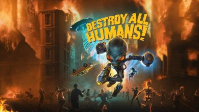 Portada Destroy All Humans