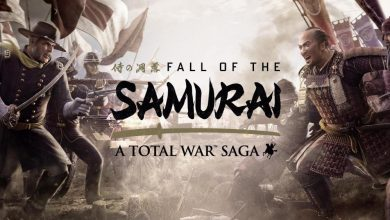 Portada Fall of the samurai