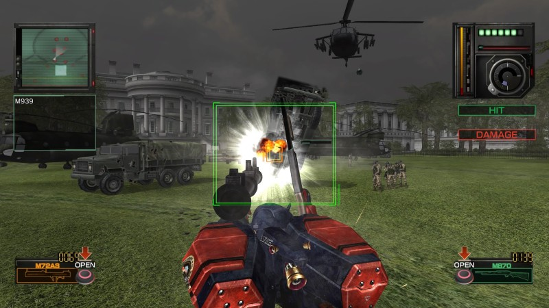 Gameplay Metal Wolf Chaos XD