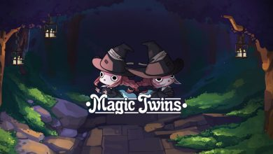 Portada del juego Magic Twins