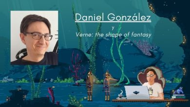 Daniel González, Director Creativo en Gametopia y del juego Verne: the shape of fantasy