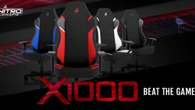 Photo of Llega al mercado la silla gaming Nitro Concepts X1000