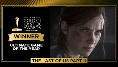 TLOU2 Golden Joystick Awards 2020
